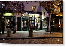 Acrylic Print featuring the photograph Shakespeare Book Shop 1 by Andrew Fare