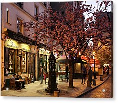 Acrylic Print featuring the photograph Shakespeare Book Shop 2 by Andrew Fare