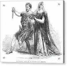 Shakespeare: Macbeth, 1845 Acrylic Print by Granger