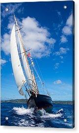 Shalamar Classic Sailboat #2 Acrylic Print by Karl Alexander