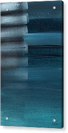 Shallow- Abstract Art By Linda Woods Acrylic Print