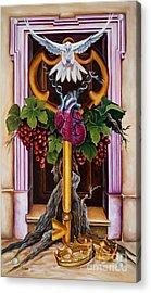 Shama Acrylic Print by Ilse Kleyn