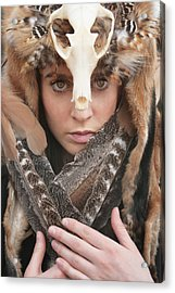 Shaman II Acrylic Print by Cambion Art