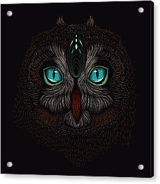 Shaman Spirit Owl Acrylic Print