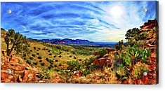 Shaman's Dome Trail Acrylic Print by ABeautifulSky Photography