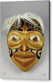 Shaman's Mask Acrylic Print