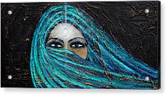 Shambala Acrylic Print by NARI - Mother Earth Spirit