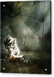 Shame Acrylic Print by Mary Hood