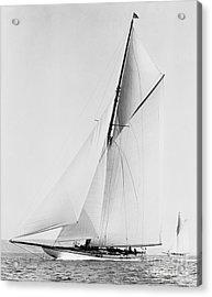 Shamrock IIi 1903 Bw Acrylic Print