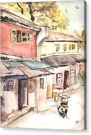 Shanghai Afternoon Acrylic Print