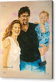 Shannon Carrie And Tommy Acrylic Print