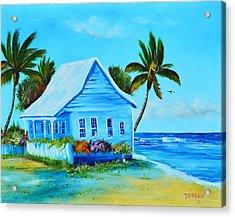 Shanty In Jamaica Acrylic Print