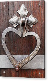 Acrylic Print featuring the photograph Shape Of My Heart by Juergen Weiss