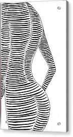 Shape That Back Of Yours Acrylic Print