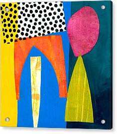 Shapes 2 Acrylic Print by Jane Davies