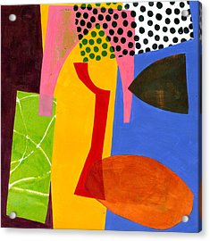 Shapes 4 Acrylic Print by Jane Davies