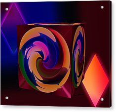 Shapes Acrylic Print by Anthony Caruso