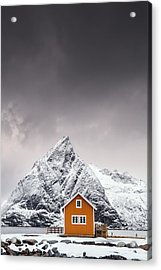 Shapes Of Lofoten Acrylic Print