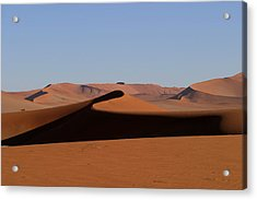 Acrylic Print featuring the photograph Shapes Of The Dunes by Riana Van Staden