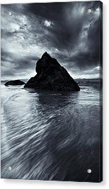 Shaping The Heavens Acrylic Print by Mike  Dawson