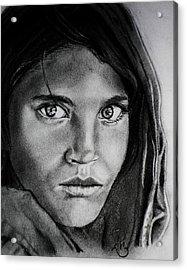 Sharbat Gula Acrylic Print by Andrea Realpe