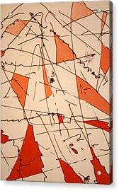 Shards - Windblown Acrylic Print by Jess Fuller