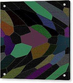 Shards Of Glass Acrylic Print