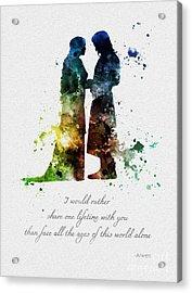 Share One Lifetime Acrylic Print