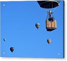 Share The Air Acrylic Print by John Glass