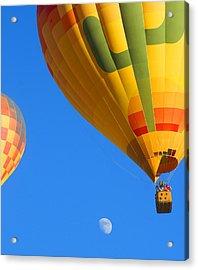 Sharing The Sky Acrylic Print