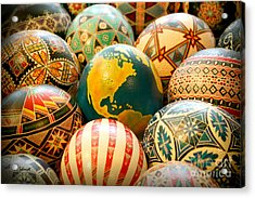Shari's Ostrich Eggs Acrylic Print
