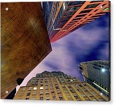 Sharp Acrylic Print by Mike Lindwasser Photography