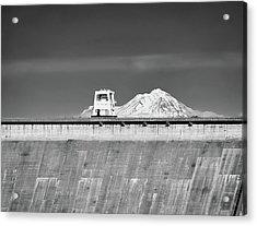 Shasta Dam  Acrylic Print