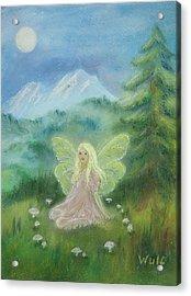 Shasta Fairy Acrylic Print