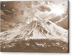 Acrylic Print featuring the photograph Shasta Mt by Athala Carole Bruckner