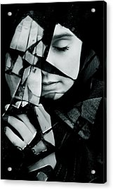 Shattered Acrylic Print by Cambion Art