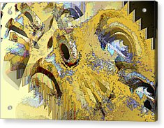 Shattered Illusions Acrylic Print