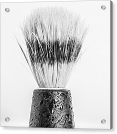 Acrylic Print featuring the photograph Shaving Brush by Gary Gillette