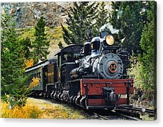 Shay On The Georgetown Loop Acrylic Print