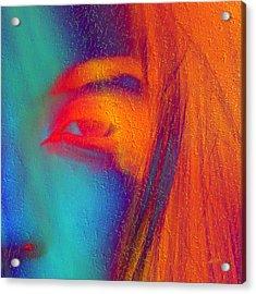 She Awakes Acrylic Print