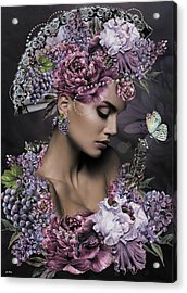 She Cast Her Fragrance Acrylic Print