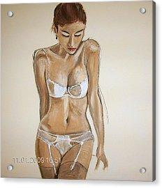 SHE Acrylic Print by Gunter Kreil