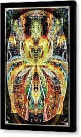 She Is A Mosaic Acrylic Print