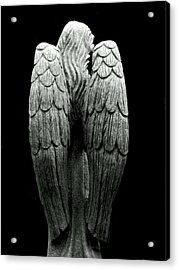 She Talks With Angels Acrylic Print