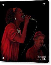 Shea D Duo Acrylic Print by Steve Knapp