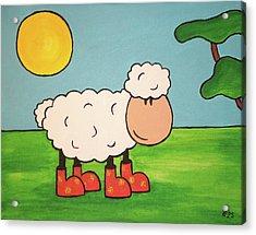 Sheeep Acrylic Print