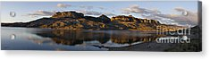 Sheep Mountain Sunrise - Panoramic-signed-12x55 Acrylic Print