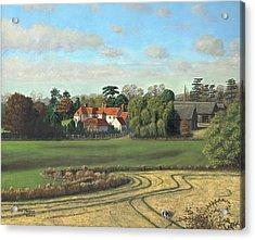 Sheering Hall Near Harlow Essex Acrylic Print