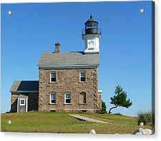 Sheffield Lighthouse Acrylic Print by Margie Avellino