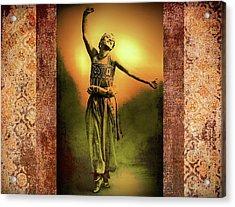 Sheherazade Acrylic Print by Mary Morawska